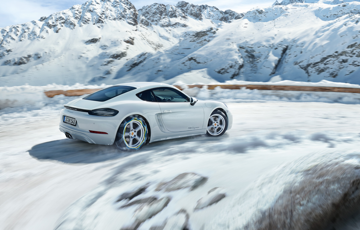 Driving in a Winter Wonderland - Our White Porsches in Stock