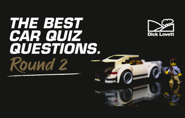 The Best Car Quiz Questions: Round 2!