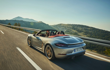 Celebrating 25 Years Of The Boxster