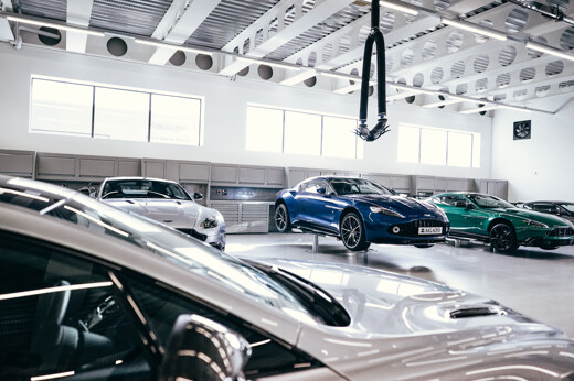Take A Step Into Aston Martin Bristol's State-of-the-art Workshop
