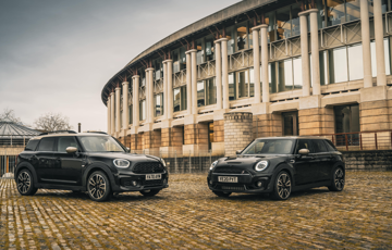 Introducing the newest Special Edition MINIs. The Clubman and Countryman Shadow Edition.