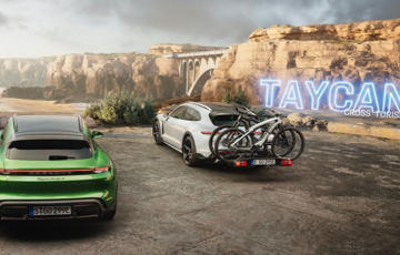 The Taycan Cross Turismo Arrives Today