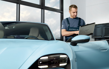 Caring for your Porsche Taycan