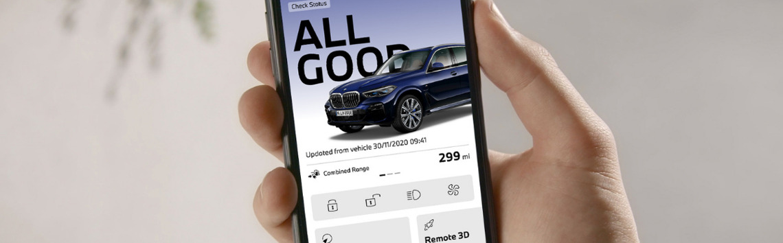 Your BMW, Optimised From Your Phone