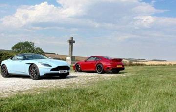 Aston Martin DB11 vs. Porsche 911 Turbo S
