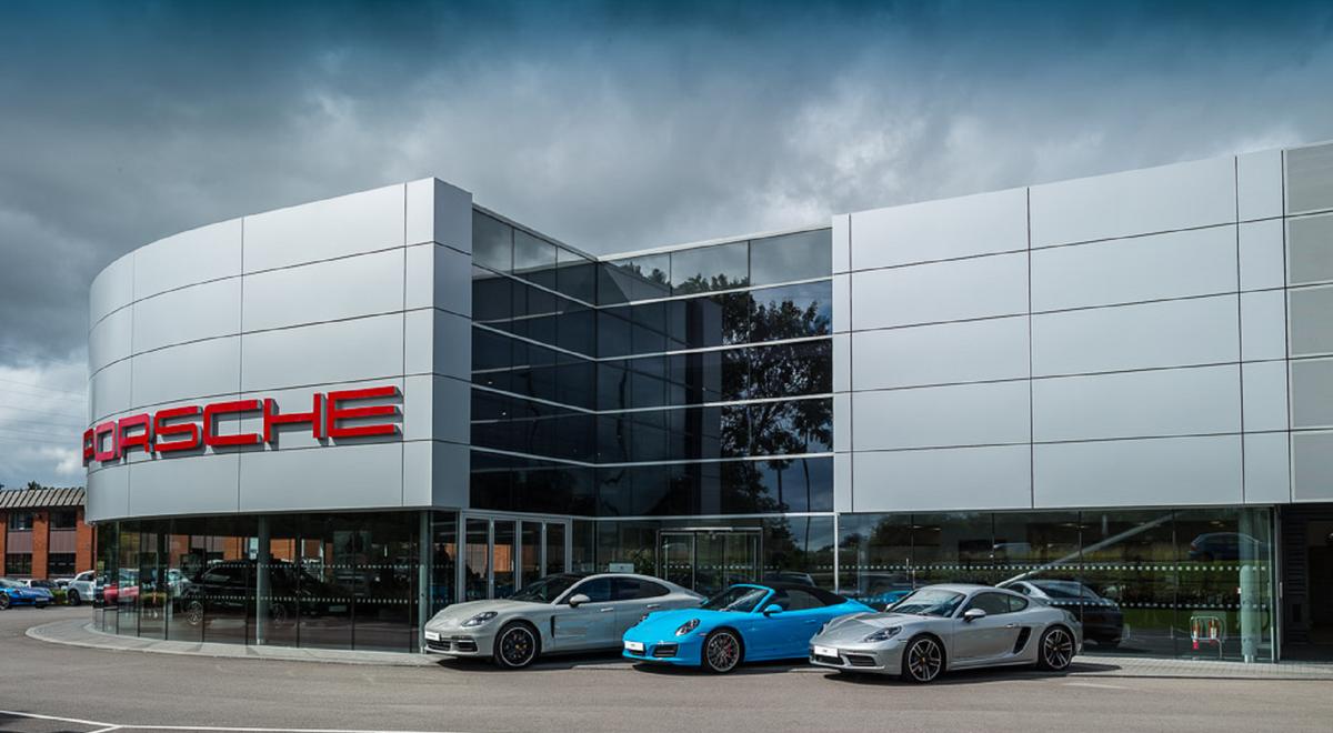 Porsche Centre Tewkesbury