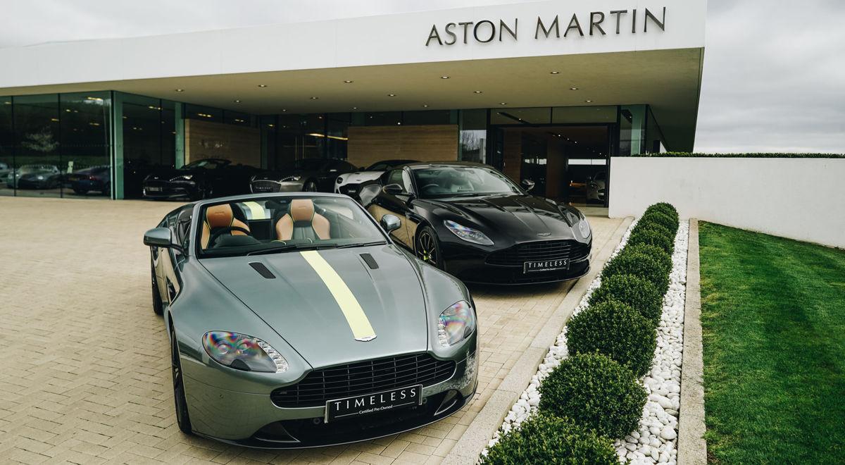 Official Aston Martin Dealership In Bristol Uk Dick Lovett