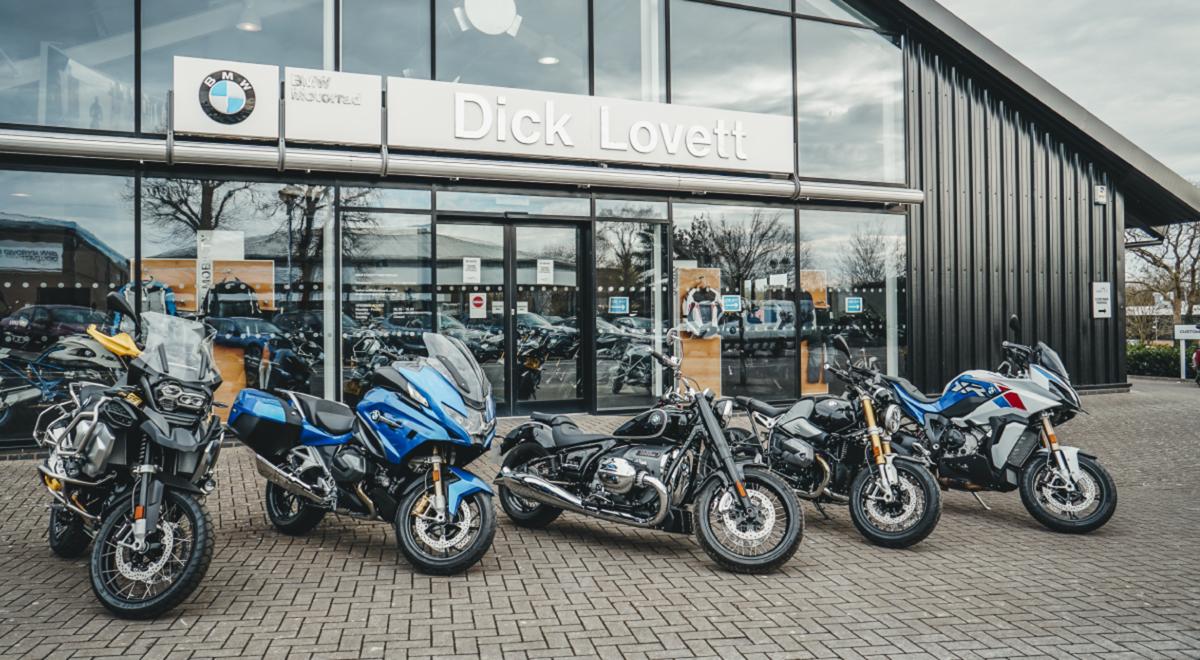 Dick Lovett BMW Motorrad Bristol