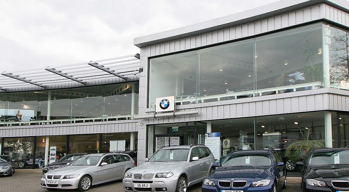 Dick Lovett BMW Hungerford