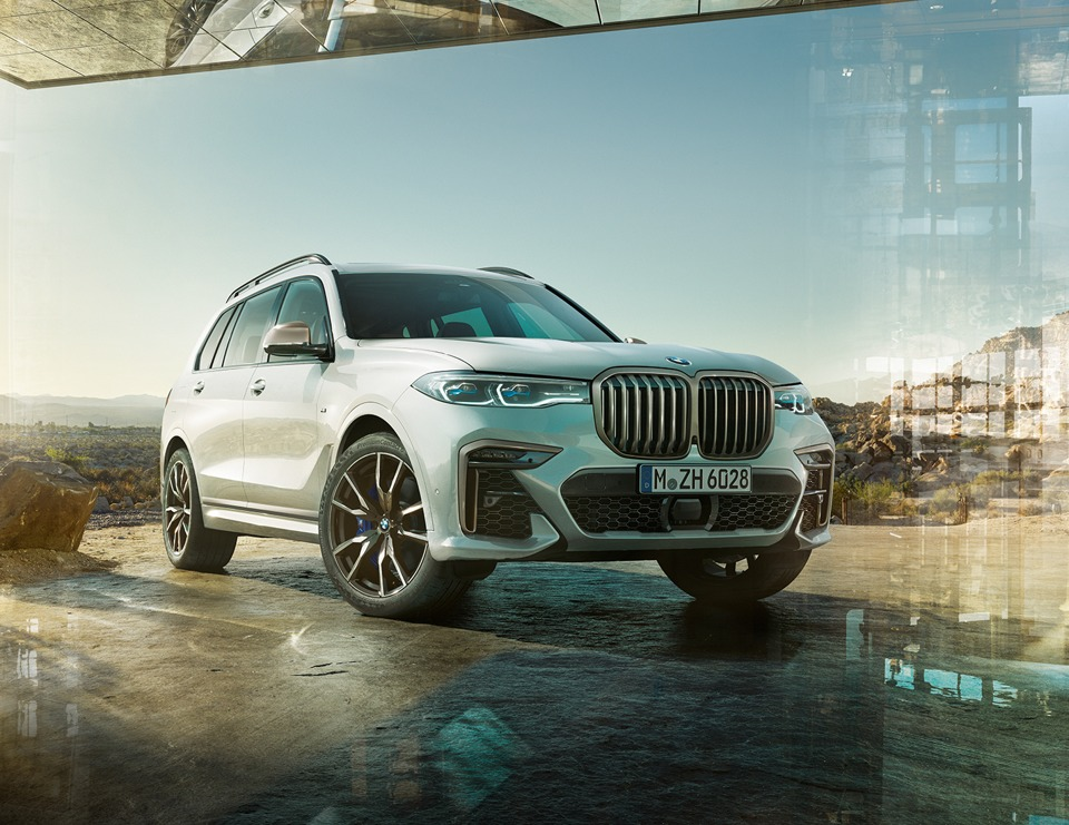 2021 BMW X7 M50d and M50i