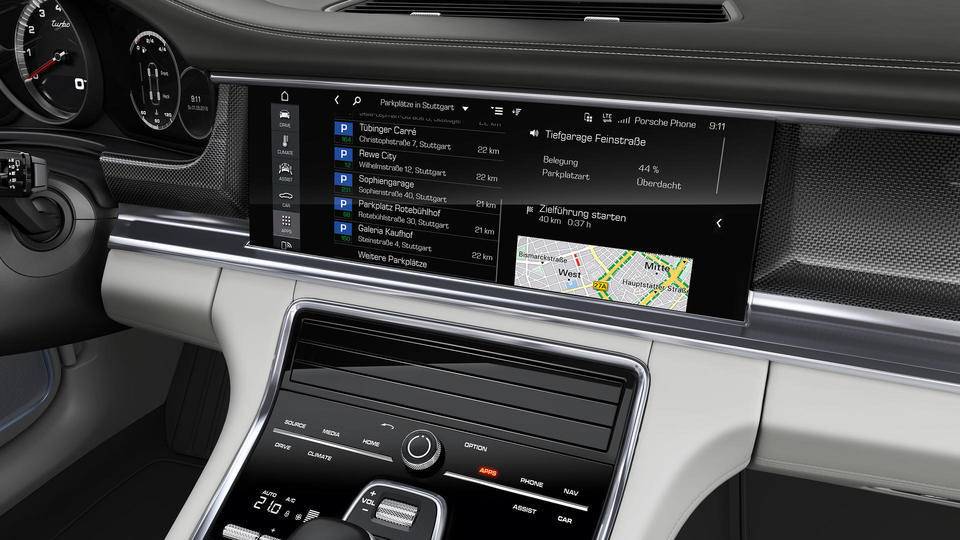 2021 Porsche Panamera Communication Management System