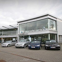The new BMW Hungerford dealership opens