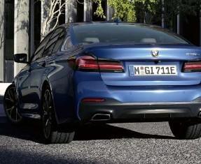 BMW 5 Series Saloon Image 1