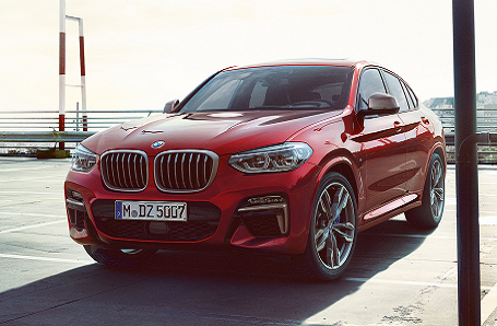 BMW X4 M40d and M40i Image 2