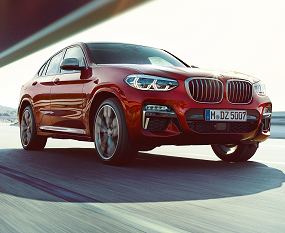 BMW X4 M40d and M40i Image 1