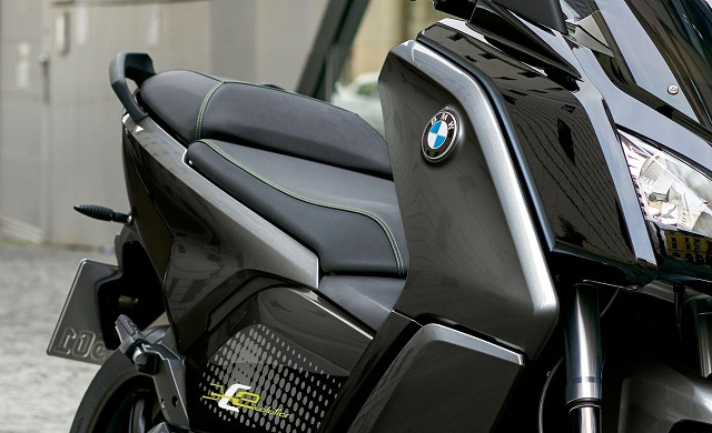 New BMW Motorrad C Evolution