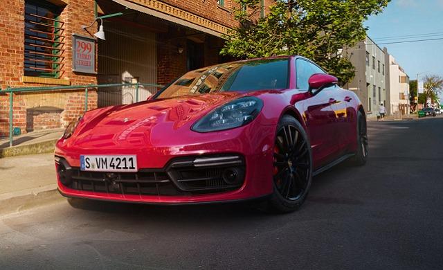 New Porsche Panamera GTS