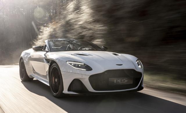 New Aston Martin DBS Superleggera Volante
