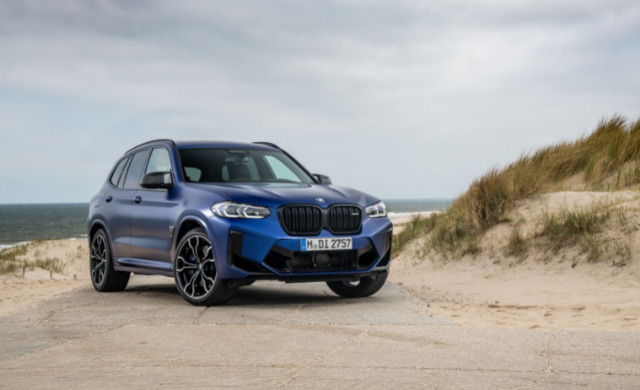 New BMW X3 M Competition