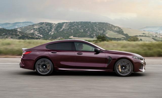 New BMW M8 Competition Gran Coupé