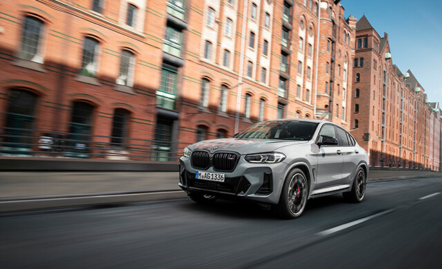 New BMW X4 M40d and M40i