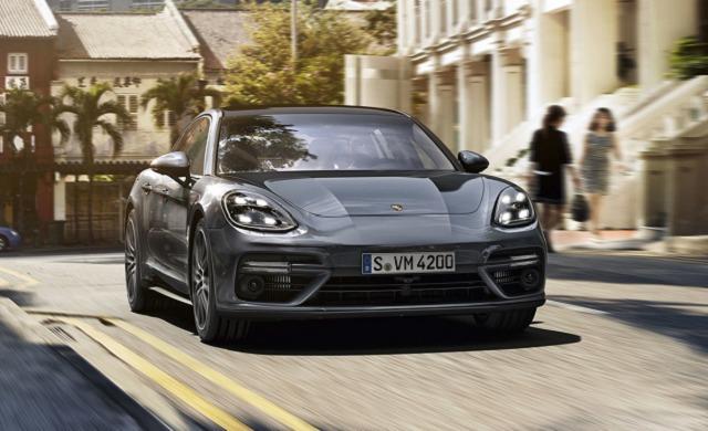 New Porsche Panamera Turbo