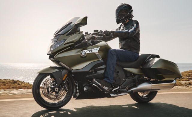 New BMW Motorrad K 1600 B car