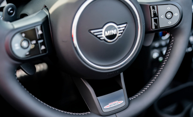 New MINI Convertible car