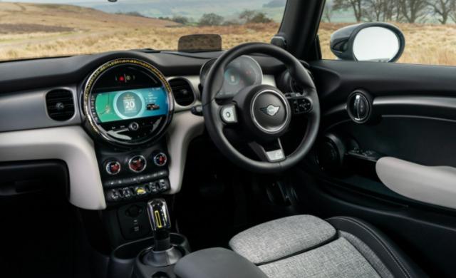 New MINI Electric car
