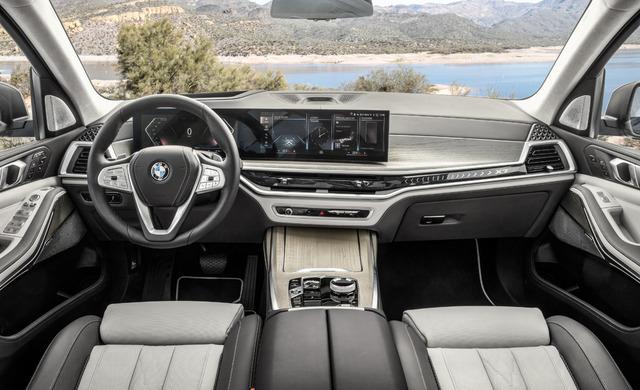 New BMW X7 car