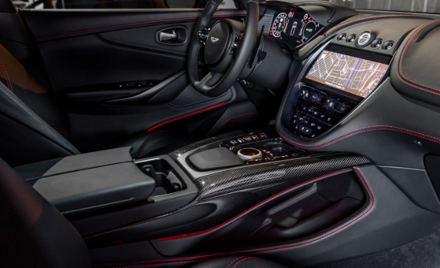 New Aston Martin DBX car