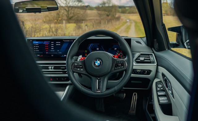 New BMW M3 Saloon car