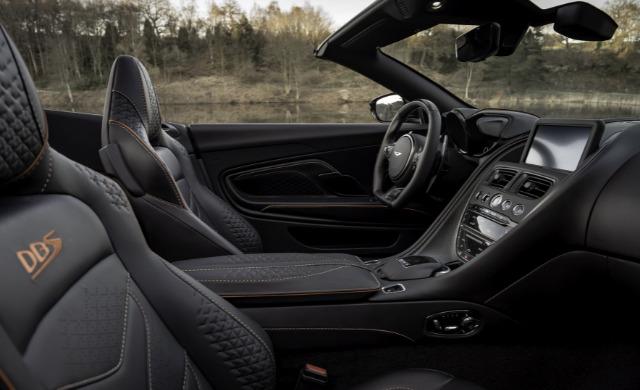 New Aston Martin DBS Superleggera Volante car