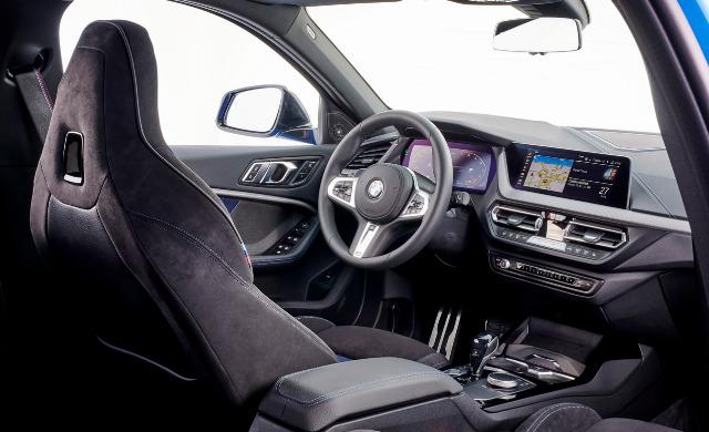 New BMW 1 Series Hatchback car