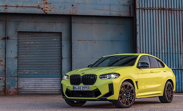 New BMW X4 M Competition car