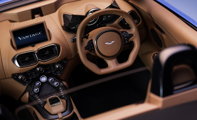 New Aston Martin Vantage Roadster car