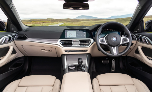 New BMW 4 Series Convertible car