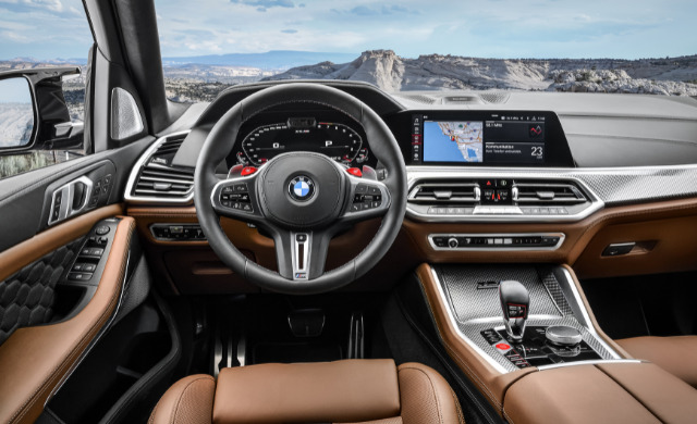 New BMW X5 M Competition car