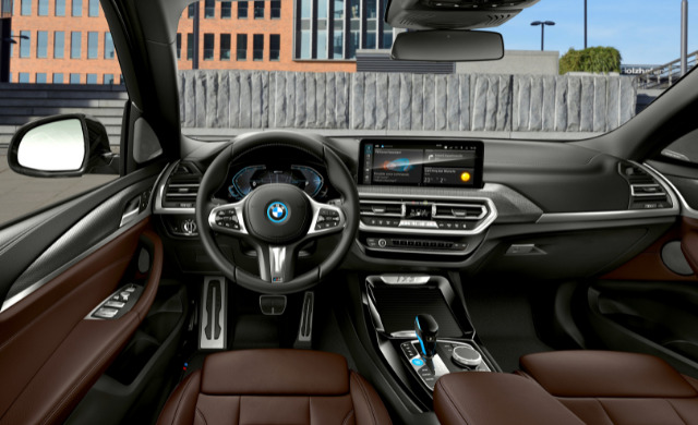 New BMW iX3 car