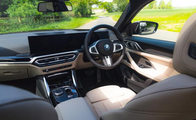 New BMW Concept i4 car