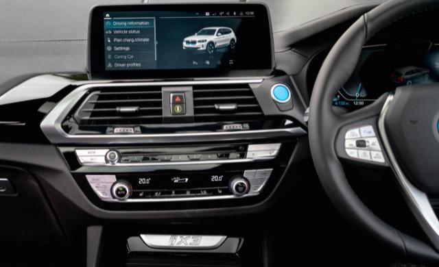 New iX3 Premier Edition car