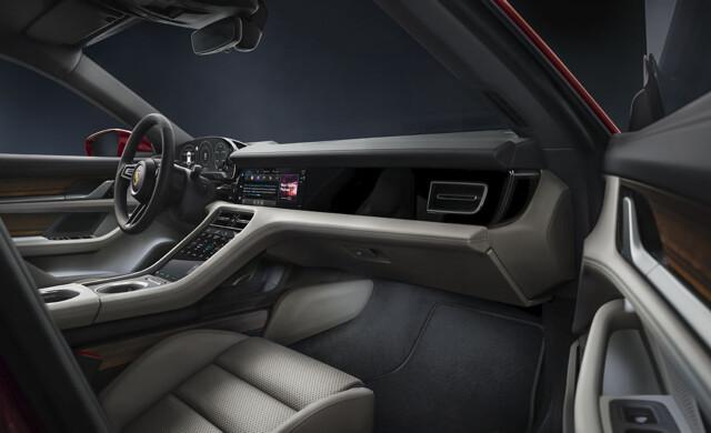 New Porsche Taycan Cross Turismo car