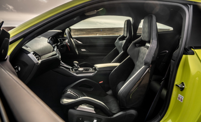 New BMW M4 Competition car