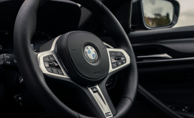New BMW 5 Series Touring car