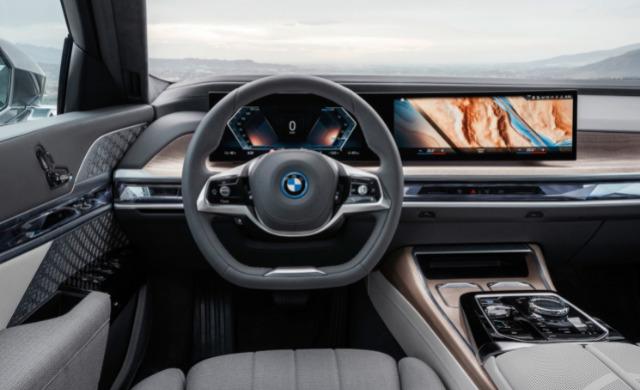 New BMW 7 Series Saloon car