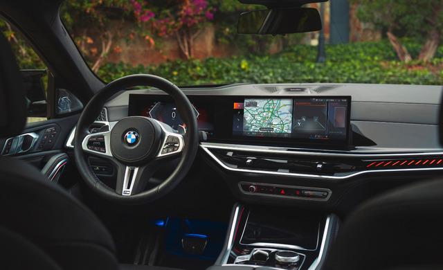 New BMW X6 car