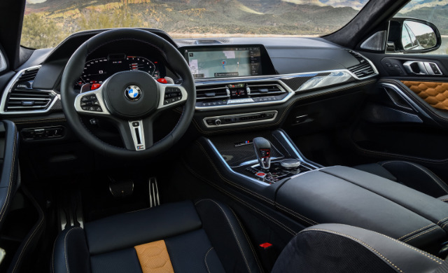 New BMW X6 M Competition car