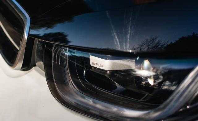 New BMW i3 car