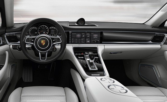 New Porsche Panamera Turbo car
