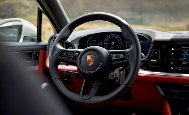 New Porsche Cayenne E-Hybrid car